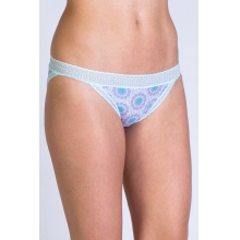 Women's Give-N-Go Print Lacy Low Rise Bikini