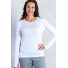 Women's BugsAway Lumen L/S by ExOfficio in Cimarron Nm