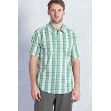 Men's Mundi Check Short Sleeve Shirt by ExOfficio in Wakefield Ri