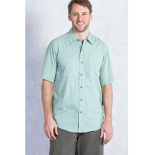 Men's Corsico Check Short Sleeve Shirt by ExOfficio