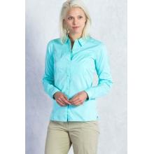 Women's Lightscape Digi-Stripe Long Sleeve Shirt by ExOfficio