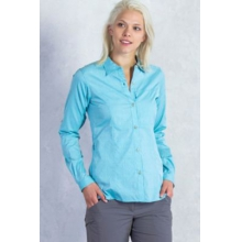 Women's Lightscape Digi-Stripe Long Sleeve Shirt by ExOfficio