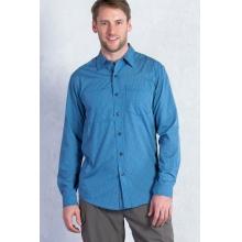 Men's Corsico Check Long Sleeve Shirt by ExOfficio in Baton Rouge La
