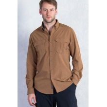 Men's Air Space Long Sleeve Shirt by ExOfficio
