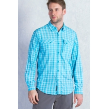 Men's Sol Cool Cryogen Plaid Long Sleeve Shirt by ExOfficio