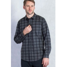 Men's Calator Plaid Long Sleeve Shirt by ExOfficio in South Yarmouth Ma