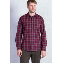 Men's Calator Plaid Long Sleeve Shirt by ExOfficio in Little Rock Ar