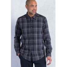 Men's Kelion Plaid Long Sleeve Shirt by ExOfficio in Fayetteville Ar