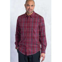 Men's Kelion Plaid Long Sleeve Shirt by ExOfficio in Portland Me