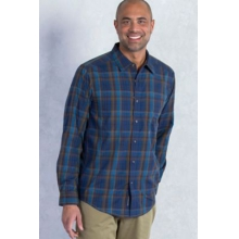 Men's Kelion Plaid Long Sleeve Shirt by ExOfficio in Clearwater Fl