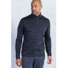 Men's Termo Quarter Neck Long Sleeve Shirt by ExOfficio