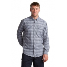 Men's Minimo Plaid Long Sleeve Shirt by ExOfficio in Milford Oh