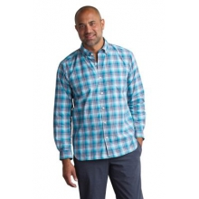 Men's Sol Cool Leman Plaid Long Sleeve Shirt by ExOfficio in New Orleans La