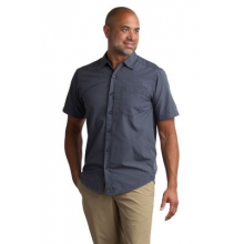 Men's Salida Plaid Shirt Short Sleeve Shirt by ExOfficio in Truckee Ca