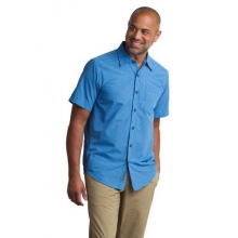 Men's Salida Plaid Shirt Short Sleeve Shirt by ExOfficio