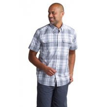 Men's Ventana Plaid Short Sleeve Shirt by ExOfficio in Dallas Tx