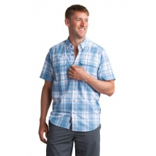 Men's Ventana Plaid Short Sleeve Shirt by ExOfficio in Knoxville Tn