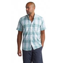 Men's Ventana Plaid Short Sleeve Shirt by ExOfficio in Baton Rouge La