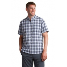 Men's Sol Cool Leman Plaid Short Sleeve Shirt