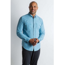 Men's BA Halo Check LS by ExOfficio in Tallahassee FL