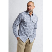 Men's BugsAway Sol Cool Plaid L/S by ExOfficio in Lafayette La