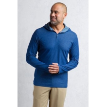 Men's BugsAway Lumos Knit Hoody by ExOfficio in Peninsula Oh