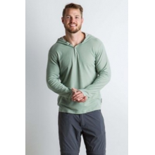 Men's BugsAway Lumos Knit Hoody by ExOfficio in Bentonville Ar