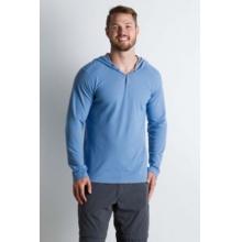 Men's BugsAway Lumos Knit Hoody by ExOfficio in Campbell Ca