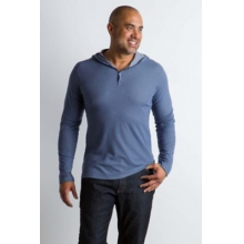 Men's BugsAway Lumos Knit Hoody by ExOfficio in Rancho Cucamonga Ca