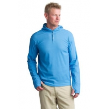 Men's BugsAway Lumos Knit Hoody by ExOfficio in Truckee Ca