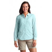 Women's Ventana Stripe Long Sleeve Shirt by ExOfficio