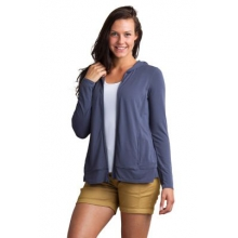 Women's Sol Cool Crossback Hoody by ExOfficio in Boulder Co