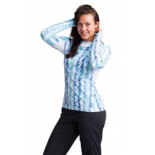Women's Sol Cool Performance Print Hoody by ExOfficio in Chattanooga Tn