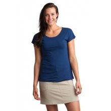 Women's Wanderlux Reversible Short Sleeve Shirt by ExOfficio in Prescott Az