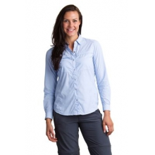 Women's BugsAway Halo Stripe Long Sleeve Shirt by ExOfficio in State College Pa