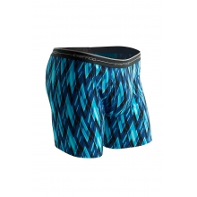 Men's Sol Cool Print Boxer Brief by ExOfficio in Iowa City IA