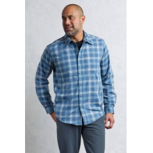 Men's Okanagan Macro Check L/S by ExOfficio in Juneau Ak
