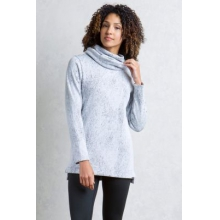 Women's Cordova Moiré Cowl Tunic by ExOfficio in Santa Monica Ca