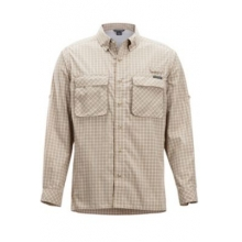 Men's Air Strip Check Plaid L/S by ExOfficio in Rancho Cucamonga Ca