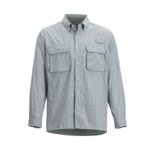 Men's Air Strip Check Plaid LS by ExOfficio in Corte Madera Ca
