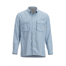 Men's Air Strip Check Plaid LS by ExOfficio in Sioux Falls SD