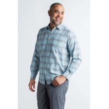 Men's BugsAway Poros Plaid L/S by ExOfficio in Leeds Al