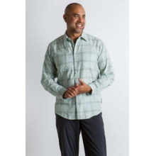 Men's BugsAway Poros Plaid L/S