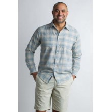 Men's BugsAway Poros Plaid L/S by ExOfficio in Sioux Falls SD