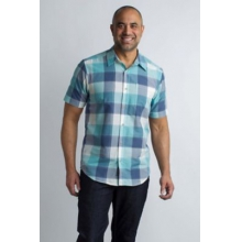 Men's Next-To-Nothing Artesia Plaid S/S by ExOfficio in Victoria Bc