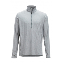 Men's BA Sol Cool Zip Neck LS