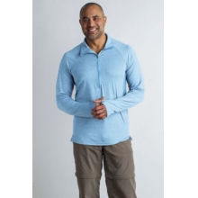 Men's BA Sol Cool Zip Neck LS by ExOfficio in Sioux Falls SD