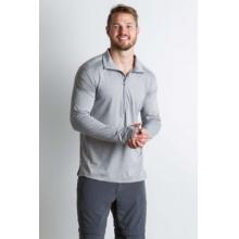 Men's BugsAway Sol Cool Zip Neck L/S by ExOfficio in Prescott Az