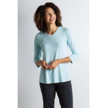 Women's Wanderlux 3/4 Sleeve by ExOfficio in Sioux Falls SD