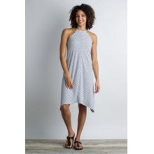 Women's Wanderlux Stripe Halter Dress by ExOfficio in Berkeley Ca